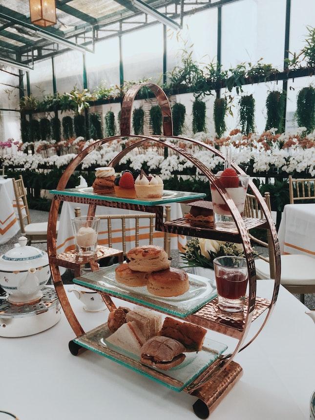Orchid Room High Tea