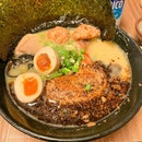 Black Spicy Tori King Ramen Special, ALL toppings ($16.90).