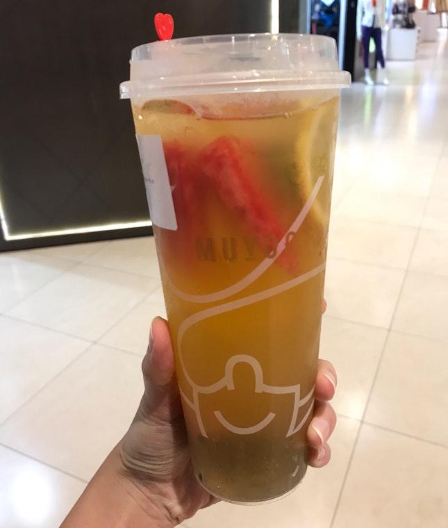 Peach + Kalamansi + Passion Fruit