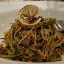 Mushroom Zucchini Aglio Olio Pasta