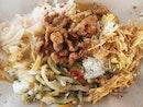 Hainanese curry rice - $3.50!