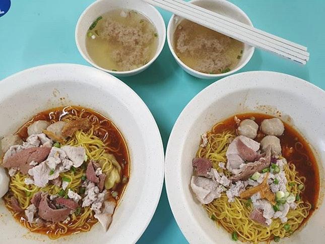 肉脞面 ($6 each) 😍😋👍🏼 .