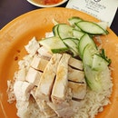 Chicken rice ($4)!