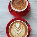Chai latte ($8) & Flat white ($7)!