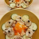 Aburi scallop salmon don (burpple beyond 1 for 1: $17)!