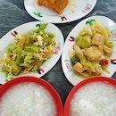 Teochew porridge for dinner ($10.70)!