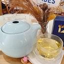 Chamomile tea ($6+)!