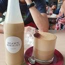 Cold brew ($8.20) & Cappuccino ($5.50)!