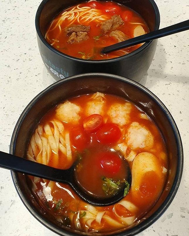 Tomato based noodles (burpple beyond: $15.90+)!