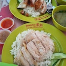 Loy kee chicken rice ($3.50 each)!