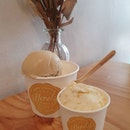 White chocolate speculoos x2 & Salted butterscotch ($10.90)!