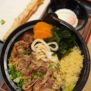 Beef sukiyaki udon ($12.80)!