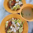 Wanton noodles ($5 each)!