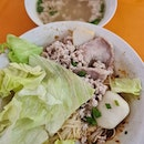 Signature minced meat mee sua ($3)!