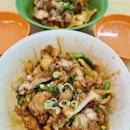 Chicken cutlet mee hoon kuey ($5.50 each)!