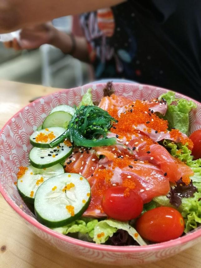 Papa's an Salmon Salad