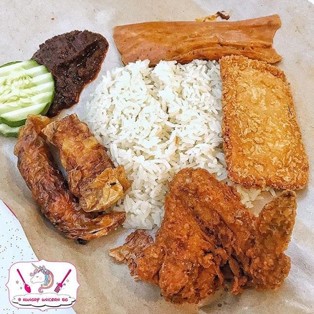 Ponggol Nasi Lemak.