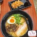 Lunch Set: Pure White Tonkotsu Ramen With Gyoza