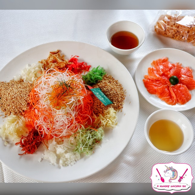 Prosperity Salmon 'Yu Sheng'