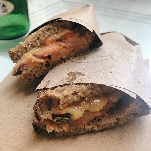 Smoked Salmon Sandwich (RM26)