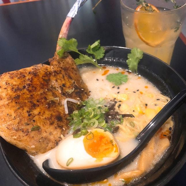 Pork Ramen With Tomahawk (RM29)