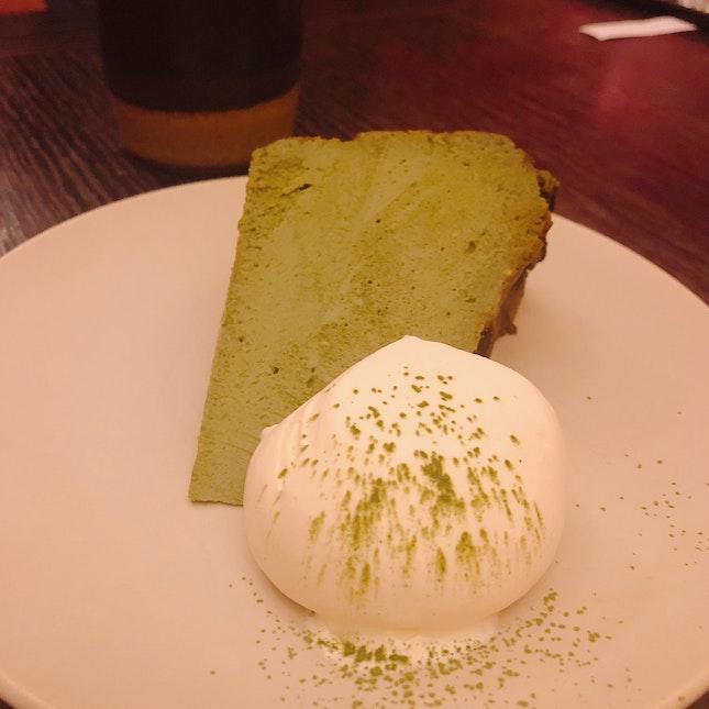 Matcha Burnt Cheesecake