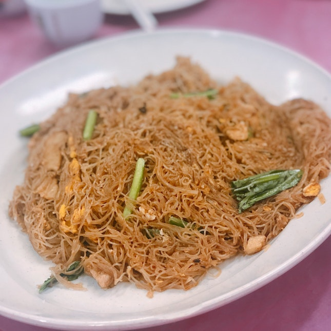Fried Meehoon & Other Chinese Dishes