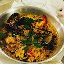 Spanish Paella 🥘 Delicioso!!