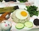 Punggol Nasi Lemak - popular with long queue to satisfy that craving.