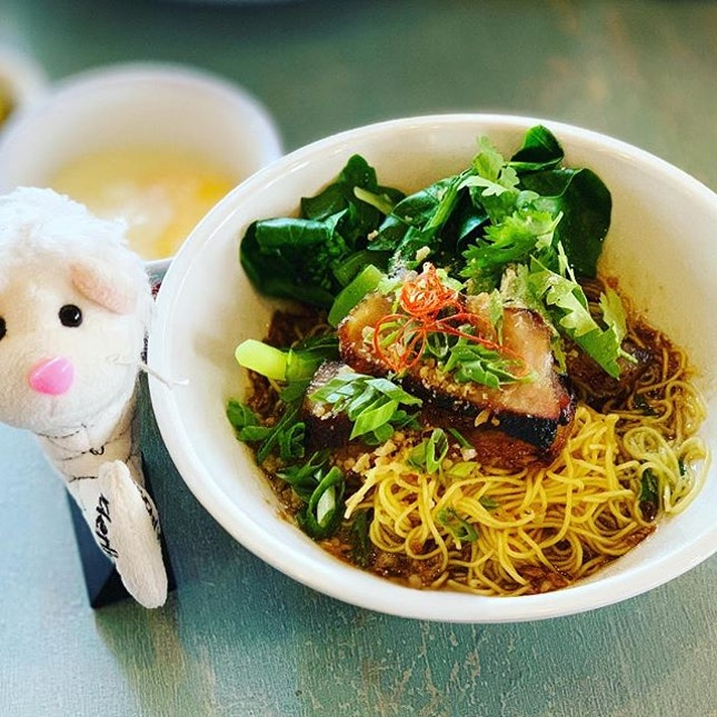 😋 First time here for their BBQ pork mee kia and at $7.80++, it is quite a steal!