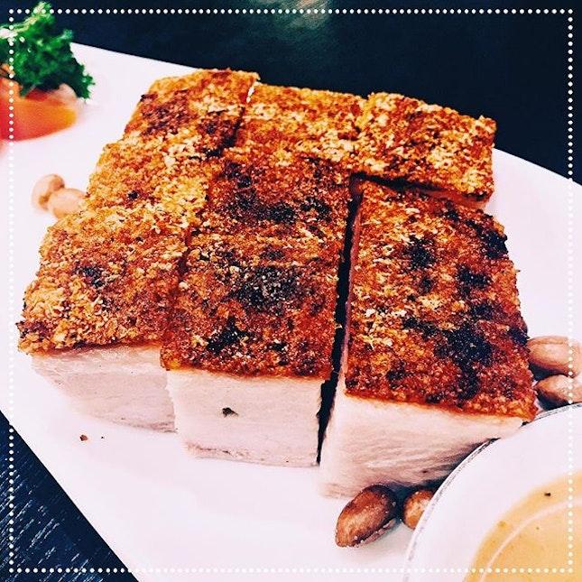 [Lucky 8] Golden Crispy BBQ Roasted Pork, S$13.80.