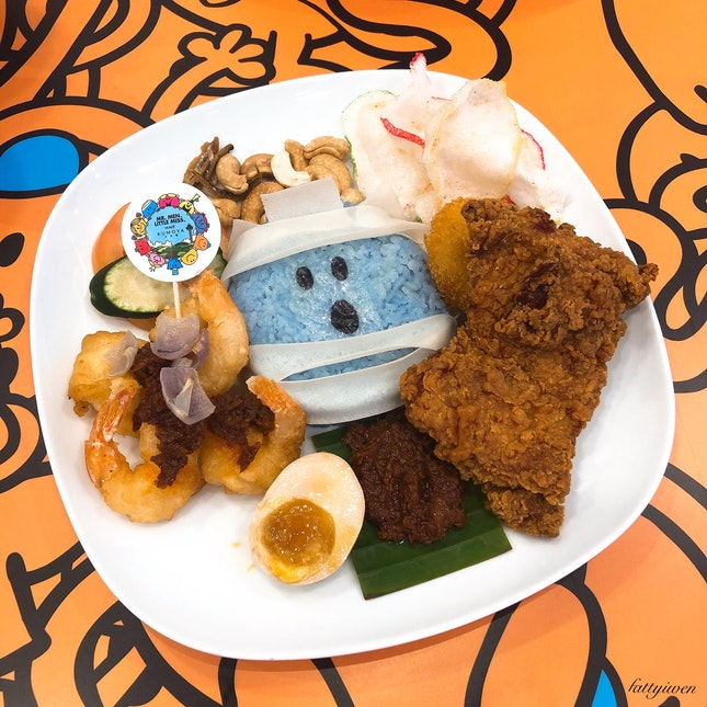 Mr Bump Knock-out Nasi Lemak ($23.90)