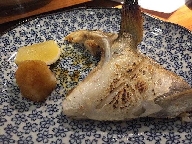 Grilled Hamachi Kama