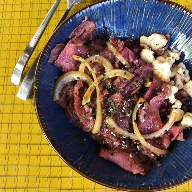 [Truffled Beef Bowl-$13.80]  Loved the truffle aroma that hit my senses when the dish was set in front of me.