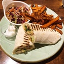 [Falafel Wrap-$15]  The wraps here are served with fries/sweet potato fries, but what surprised me was that there was actually fries in the wrap too?😂 Felt that the fries were needless as they didn't really do much for the wrap in terms of tastes and textures.