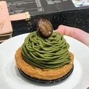 [Matcha Mont Blanc-$9.50]  Hands down one of the best Matcha Mont Blanc i've ever had.