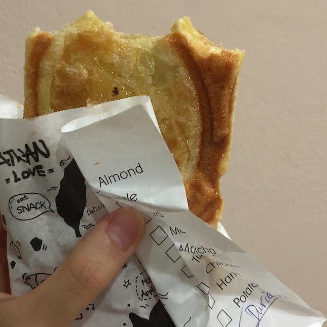 Durian Croissant ($5)