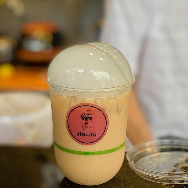Earl Grey Milk Tea ($3.80)