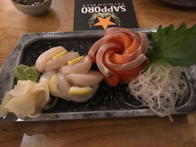 Awesome Food And Nice Sashimi!