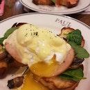 Eggs Benedict (Ham)