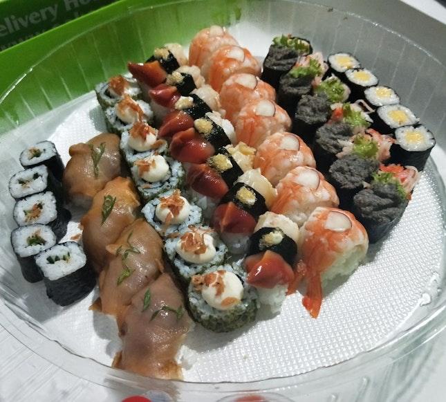 Spring Blossom Sushi Platter