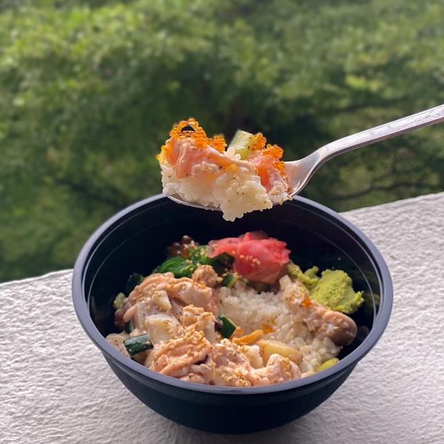 Affordable And Yummy Mentaiyaki Bowl