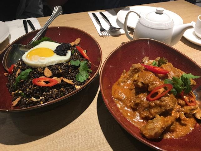 The Sambal Buah Keluak Fried Rice Is To Die For!