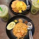 Seafood Fried Rice & Pineapple Fried Rice
