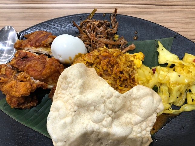 Nasi Lemak (Chicken Set)