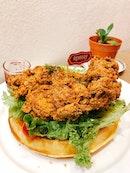Chicken & Waffles [$17]