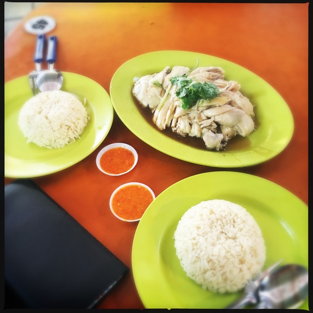 Nice Chicken Rice For Lunch