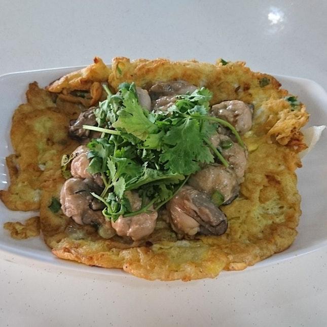 Lovely Oyster Omelette
