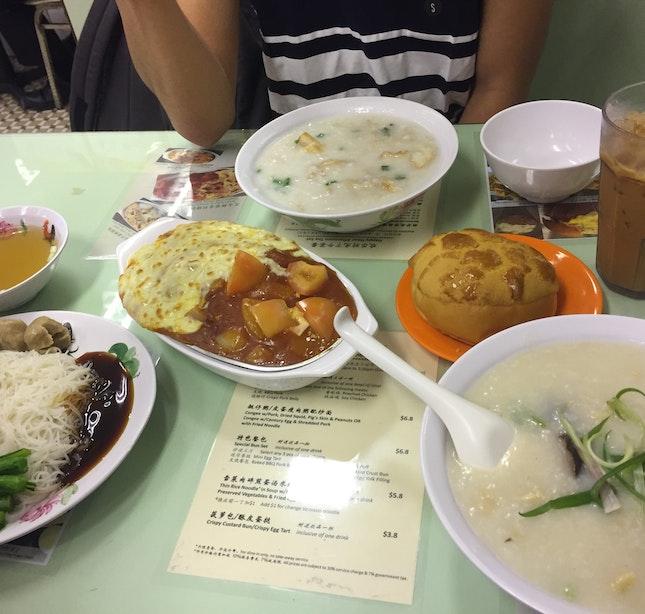Hong Kong Cha Chann Teng Lunch!