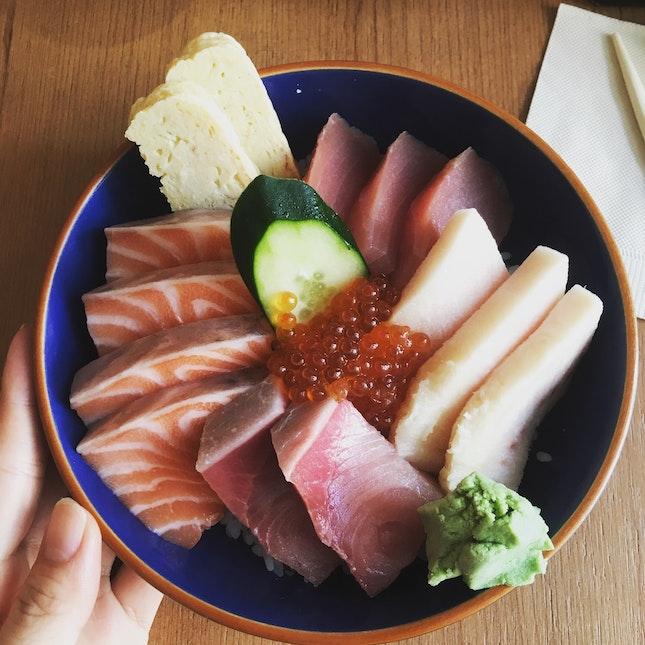 Thick Juicy Sashimi Slices